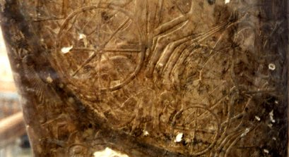 Clearlywritten evidence found under the red sea cairo museum shows an 8 spoke wheel on a chariot cab sciox Gallery