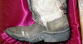 petrified cowboy boot