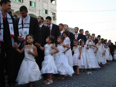 Muslim child brides in Gaza