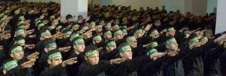muslim hand salutes