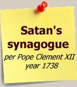 we think freemasonry is in league with Satan